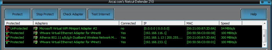 Arcai.com's netcut-defender